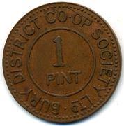 1 Pint - Bury District CSL (Lancashire) – obverse