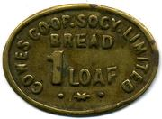 1 Loaf Bread - Cowes CSL (Isle of Wight) – obverse