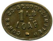 1 Lb Loaf - Cowes CSL (Isle of Wight) – obverse