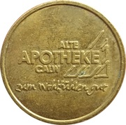 Alter Taler - Alte Apotheke (Calw) – obverse