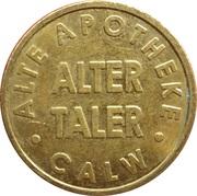 Alter Taler - Alte Apotheke (Calw) – reverse