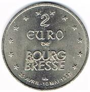 2 Euro (Bourg-en-Bresse) – obverse