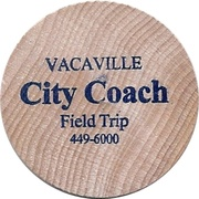 1 Way Pass - Vacaville City Coach Student Field Trip – obverse