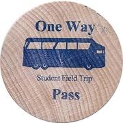 1 Way Pass - Vacaville City Coach Student Field Trip – reverse