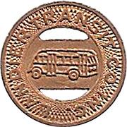 1 Fare - Landier Transit Co. Inc. (Watts, California) – obverse