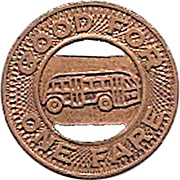 1 Fare - Landier Transit Co. Inc. (Watts, California) – reverse