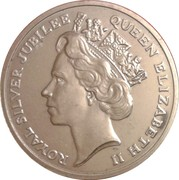 Token - Pobjoy Mint (Priority Collectors Register; Silver Jubilee) – obverse