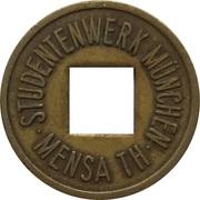 1 Wertmarke - Studentenwerk (München) – obverse