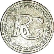 Token - RG (Golden metal) – obverse