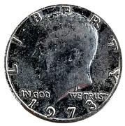 Token - Small Kennedy Half Dollar – obverse