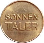 Sonnen Taler - Sonnen Apotheke (Bisingen) – reverse