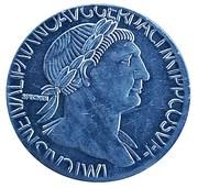 Replica - Sestertius - Traianus (SPQR OPTIMO PRINCIPI) – obverse