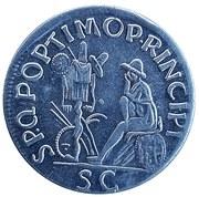 Replica - Sestertius - Traianus (SPQR OPTIMO PRINCIPI) – reverse