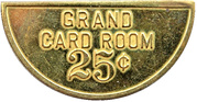 25 Cents - Grand Card Room (Fargo, North Dakota) -  obverse