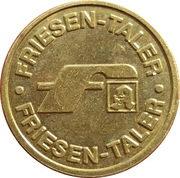 Friesen Taler - Friesen Apotheke (Trappenkamp) – reverse