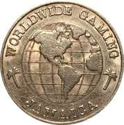 1 Quarter Gaming Token - Worldwide Gambling – reverse