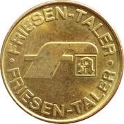 Friesen Taler - Friesen Apotheke – obverse