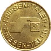 Friesen Taler - Friesen Apotheke – reverse
