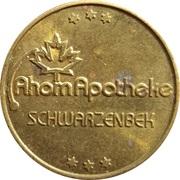 Pharmacy Token - Bären & Ahorn Apotheke (Schwarzenbek) – reverse