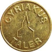 Cyriakus / Glocken Taler (Bottrop) – obverse