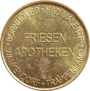 Friesen Taler - Friesen Apotheken (Bornhöved, Bad Malente, Wankendorf, Trappenkamp) – obverse
