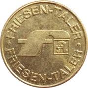 Friesen Taler - Friesen Apotheken (Bornhöved, Bad Malente, Wankendorf, Trappenkamp) – reverse