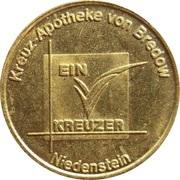 1 Kreuzer - Kreutz-Apotheke (Niedenstein) – obverse