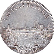 Token - Louis XV (Paris Administration Municipale) – reverse