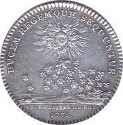 Token - Louis XV (Secrétaires émission vers 1731) – reverse