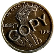 1 Cent (Copy) – obverse