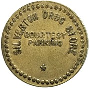 Token - Silverton Drug Store (Silverton, Oregon) – obverse