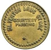 Token - Silverton Drug Store (Silverton, Oregon) – reverse