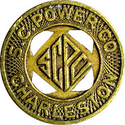 1 Fare - S.C. Power Co. (Charleston, South Carolina) – obverse