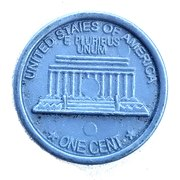1 Cent - Play Money – reverse