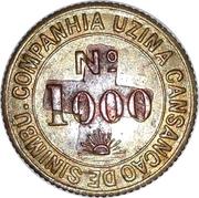 Token - Uzina Tiúma (№ 1000) – reverse