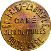 Token - Hôtel des Voyageurs (Dudelange) – obverse