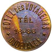 Token - Hôtel des Voyageurs (Dudelange) – reverse