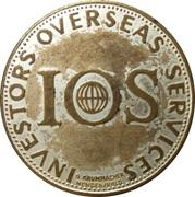 Token - IOS - Investors Overseas Services (Norbert Walter jr.) – obverse