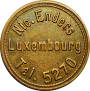 Token - Café Nic. Enders (Luxembourg) – obverse
