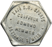 Token - Café des Sports (Bettange-sur-Mess) – obverse