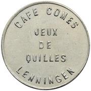 Token - Café Comes (Lenningen) – obverse