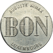 Token - Café de la Gare (Bertrange) – reverse