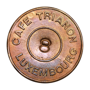 Token - Café Trianon (Luxembourg) – obverse