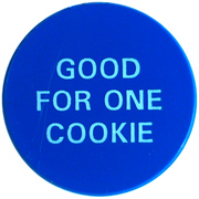 1 Cookie - Boston Pizza – obverse
