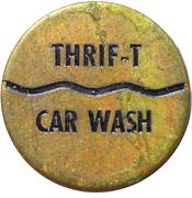 Car Wash Token - Thrif-T Car Wash (Neepawa, Mb) – obverse