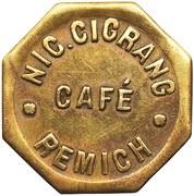 Token - Café Cigrang (Remich) – obverse