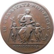 "Papal ""Beggars"" Medal – reverse"