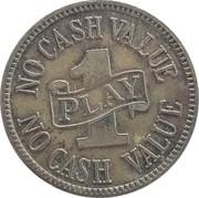 1 Play - No Cash Value (Eagle) – obverse