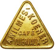 Token - Café Wilmes-Koener (Clervaux) – obverse