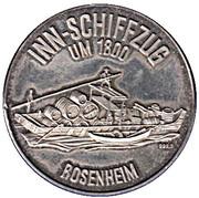 Token - Rosenheim (Inn-Schiffzug um 1800) – obverse